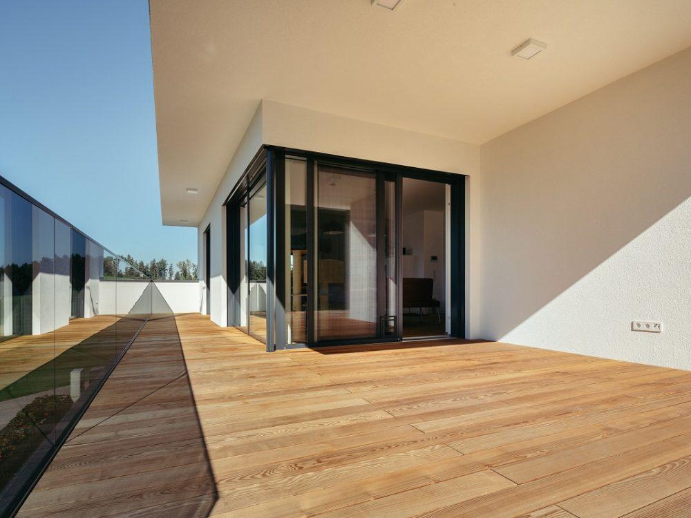 Terrassendiele Thermo-Esche