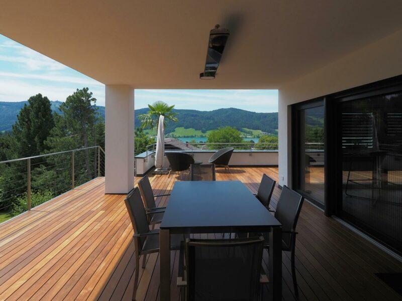 Terrasse Brasilianische Nuss